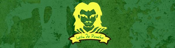 Leon de poncho. Café de algarroba.