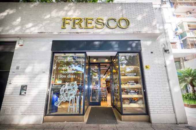 Local fresco-compressed