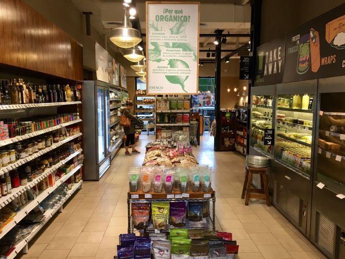supermercado organico fresco