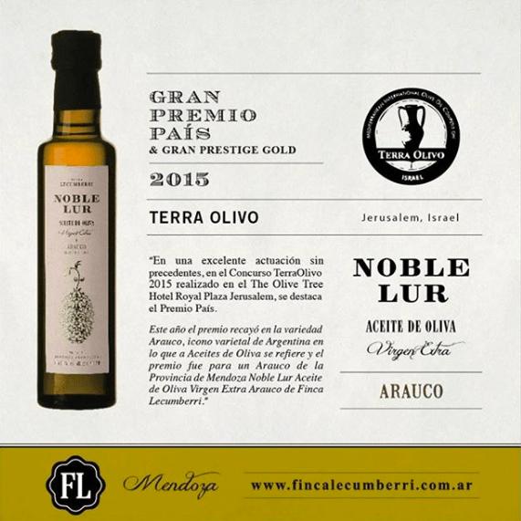aceite de oliva arauco GPP