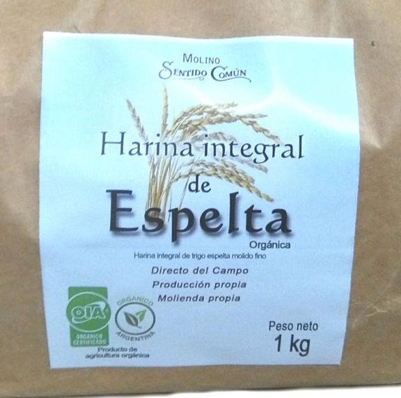 Harina de Espelta Orgánica.