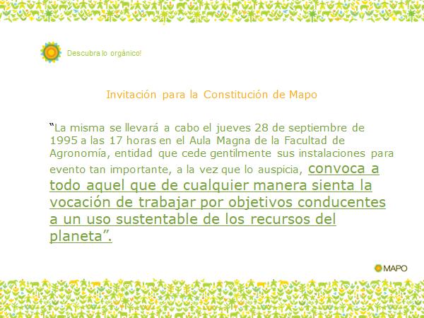 invitación PARA LA CONSTITUCION DE mayo