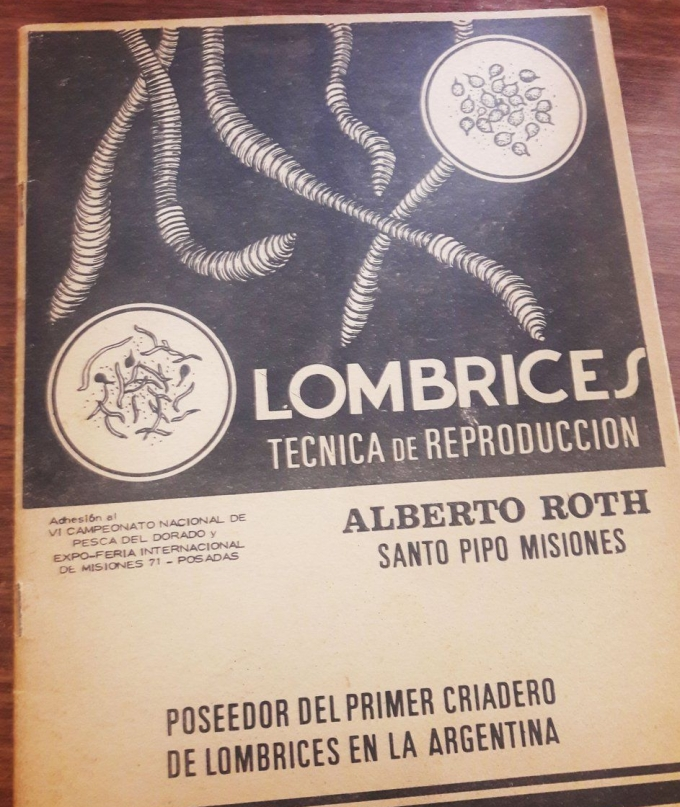 Lombrices. Tecnicas de produccion. Alberto Roth.